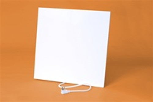 "Prestyl PRUD2020-120 19.5"" x 19.5"" 120V Flat Panel Under Desk Infrared Heater"