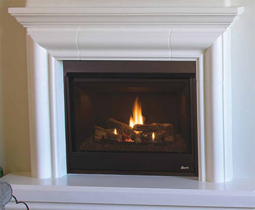 "Superior DRT3033REP 33"" Direct Vent Fireplace, Rear Vent Pro Series"