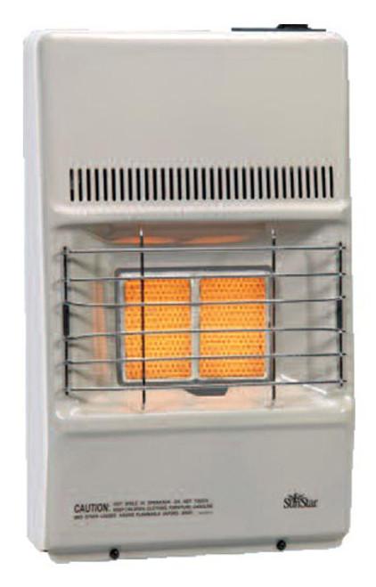 SunStar SC10M-1-LP 8,500 BTU Vent Free Infrared/Radiant Manual Heater - LP