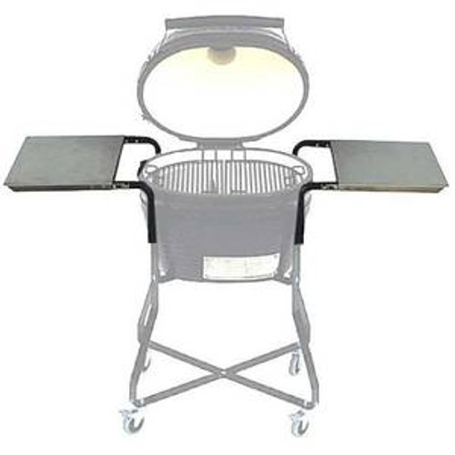Primo PRM303 Stainless Steel Side Tables for Kamado Grill Cradle