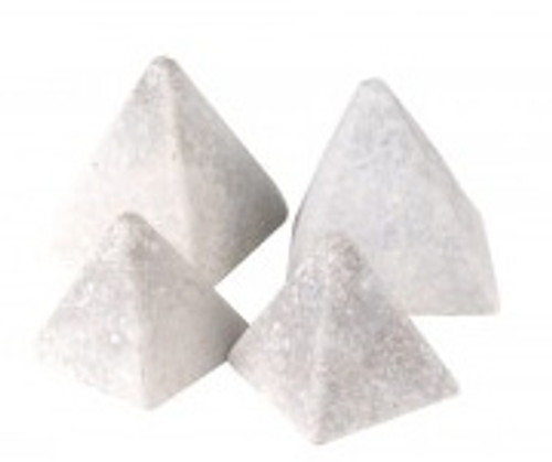 RH Peterson Real-Fyre GEO-P*-4 Set of Four Pyramid Geo Shapes