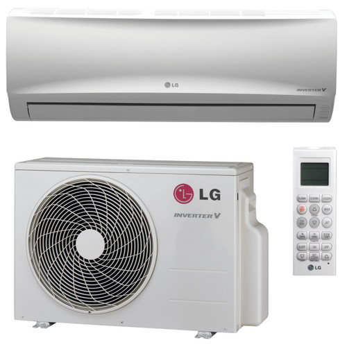 LG LS120HEV1 12000 BTU Mega Series Single Zone System with Heat Pump