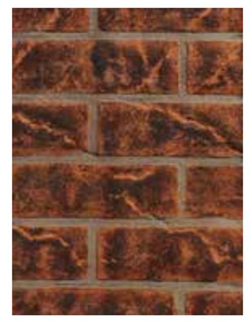 Superior ABLK35V Vintage Red Brick Ceramic Liner Kit