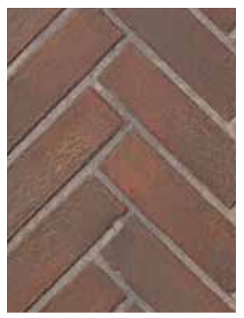 Superior BLK35OTR-H Old Town Red Herringbone Brick Ceramic Liner Kit