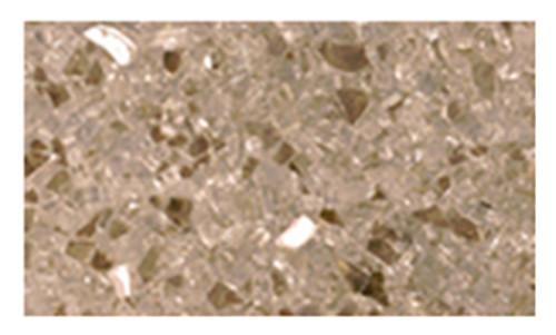 Superior CRSHGL-GF 5 Pound Bag Goldfinger Crushed Glass