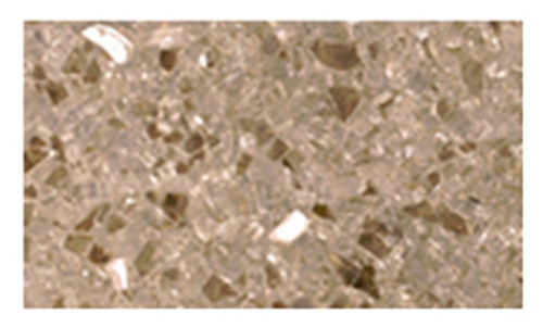Superior CRSHGL-GF 5 Pound Bag Goldfinger Crushed Glass