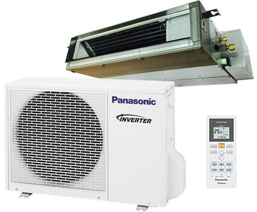 Panasonic E12SD3UA 11500 BTU Low Profile Ducted Ceiling Single Zone Mini-Split System - Energy Star