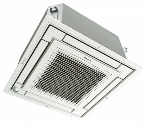 Daikin FFQ15Q2VJU 15000 BTU Ceiling Cassette Unit with White Grille - Controller Required