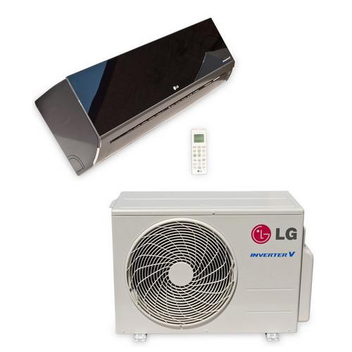 LG LA180HSV5 18000 BTU Art Cool Mirror Single Zone Heat and Cool Mini Split System with Built-In WiFi