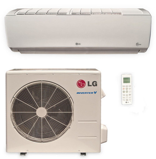 LG LS180HSV5 18000 BTU High Efficiency Single Zone Mini Split System with Built-In WiFi