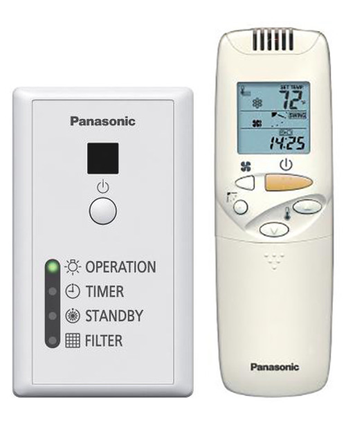 Panasonic CZ-RWSK1U-CZ-RWSC3 Wireless Remote Controller and Receiver Package