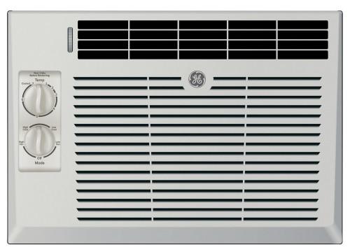 GE AEV05LX 5200 BTU Manual Control Window Unit Room Air Conditioner