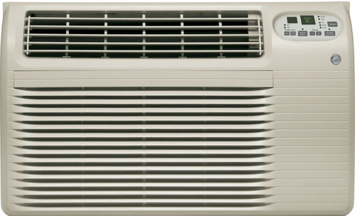GE AJEQ09DCF 9100/9300 BTU Thru-the-Wall Room Air Conditioner with Electric Heat - 208/230 Volt