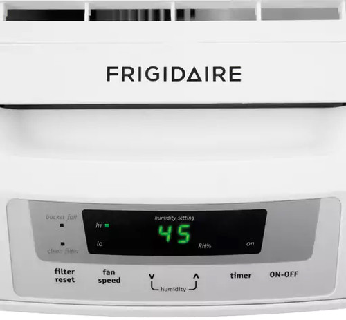 Frigidaire FAD504DWD control panel