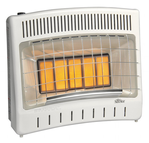 SunStar SC30M-1-LP 27000 BTU Vent Free Infrared Manual Heater - LP