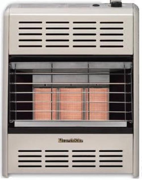 HearthRite HR18MN 18000 BTU Radiant Vent Free Gas Heater - NG