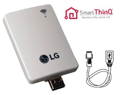 LG PWFMDD200 WiFi Module for all LG SmartThinQ Enabled Indoor Mini Split  Units