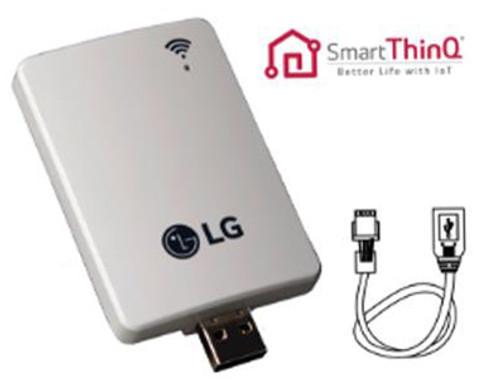 LG PWFMDD200 WiFi Module for all LG SmartThinQ Enabled Indoor Mini Split  Units