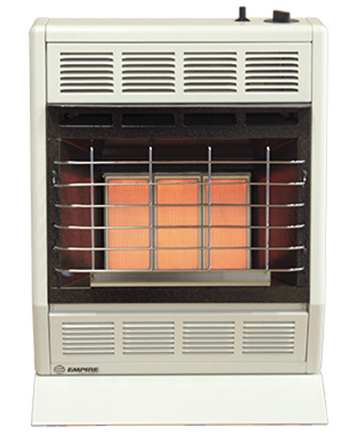 Empire Comfort Systems SR-18TW Vent-Free 18000 BTU Gas Heater/Thermostat Control
