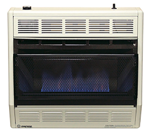 Empire Comfort Systems BF-30W 30,000 BTU Blue Flame Vent-Free Gas Heater
