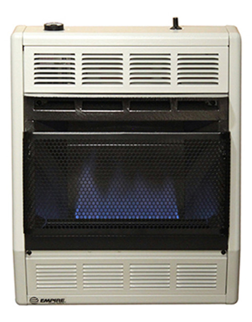 Empire Comfort Systems BF-10W 10,000 BTU Blue Flame Vent-Free Gas Heater