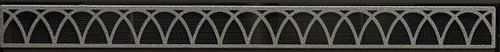 """White Mountain Hearth DVG22ABL 22"""" Arch Louvers in Matte Black"""