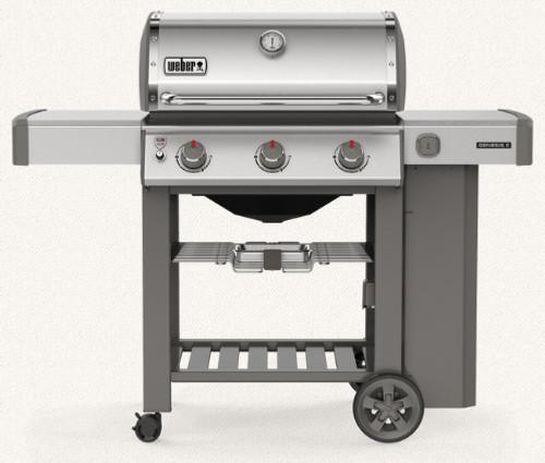 Weber 61001001 Genesis II S-310 Freestanding Gas Grill - Black - LP