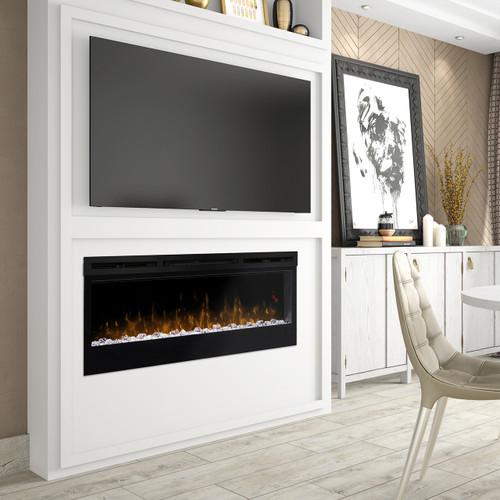 "Dimplex BLF5051 Prism Series 50"" Wall-Mount Linear Electric Firebox"