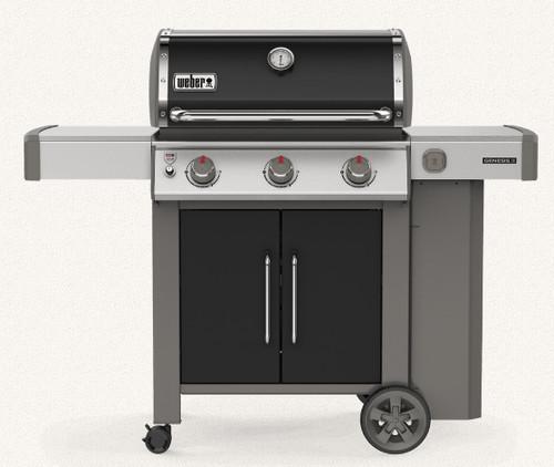 Weber 61015001 Genesis II E-315 Freestanding Gas Grill - LP - Black