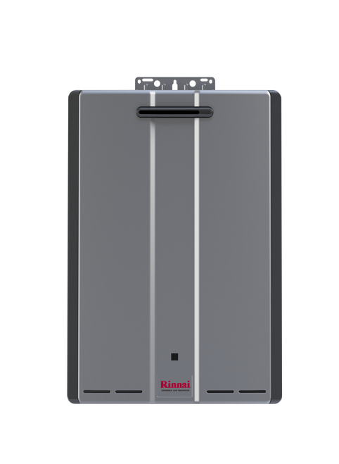 Rinnai RUR199e 9.8 GPM Sensei+ Tankless Hot Water Heater for Outdoor Installation