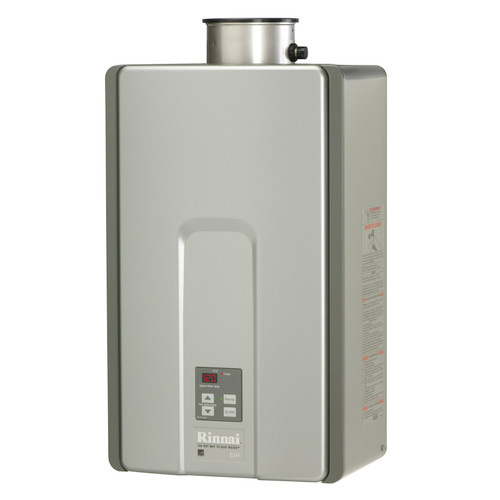 Rinnai RLX94iN High Efficiency Plus Non-Condensing, 9.8 GPM Tankless Hot Water Heater for Indoor Installation