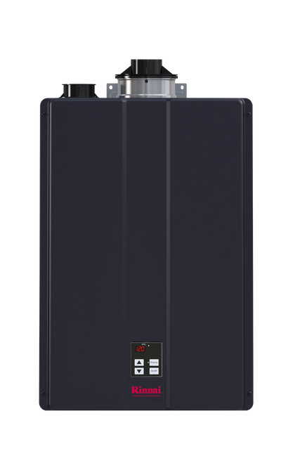 Rinnai CU160i 8.0 GPM Sensei Commercial Condensing Tankless Hot Water Heater for Indoor Installation
