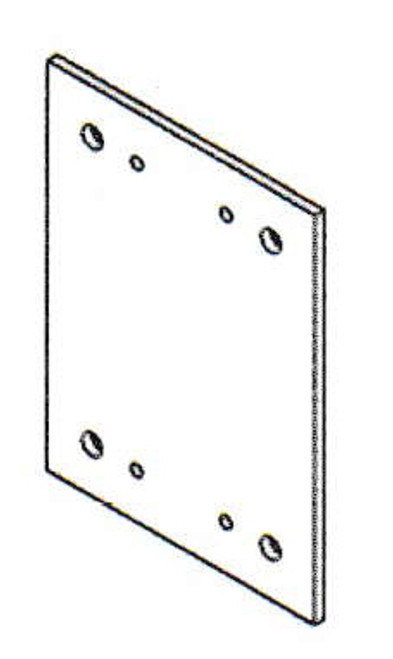"Mars J0016 5"" Flat Side-Extension Plates"
