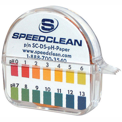 SpeedClean SC-DS-PH-PAPER pH Testing Roll