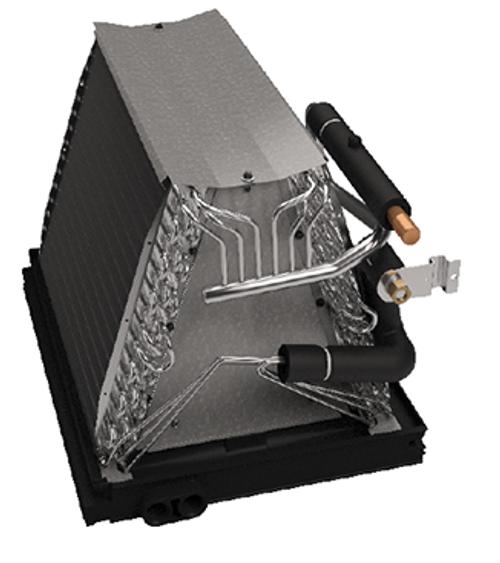 "Goodman CAUF3636C6 3 Ton Indoor Uncased ""A"" Evaporator Coil - Fits 21"" Wide Furnace Cabinet"