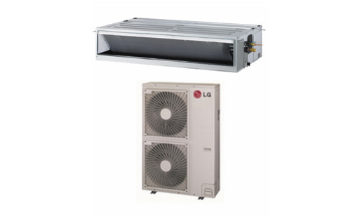 LG LH368HV 36000 BTU Hi-Static Ceiling Concealed Duct Single Zone System