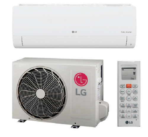 LG LS120HXV2 12000 BTU Mega Series Single Zone Mini Split System with Heat Pump - 115V