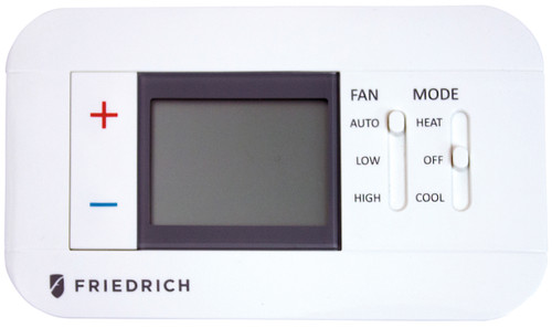 Friedrich RT7 Digital Remote Wall Thermostat - Non Programmable