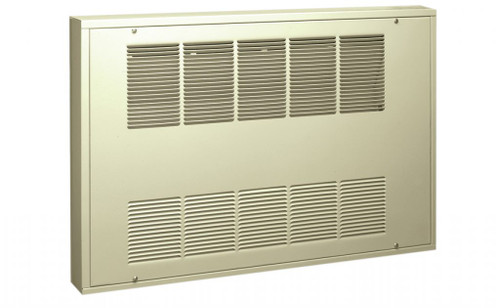 King KCF3-2730-1-S 3000 Watt Fan Forced Heat Cabinet Wall Heater - 277V
