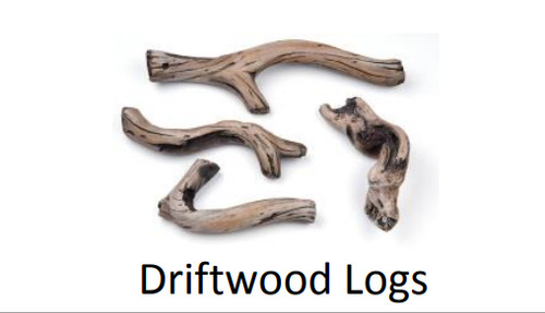 Superior DWLS-RNCL45 Driftwood Log Set for DRL 45""