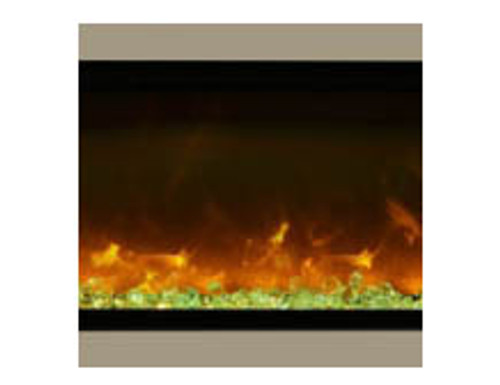 "Amantii SYM-34-SURR-BRON Bronze Surround For 34"" Symmetry & Symmetry-B Electric Fireplaces"