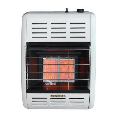 HearthRite HRW10TN 10000 BTU Infrared/Radiant Vent Free Gas Heater with Thermostat - Natural Gas