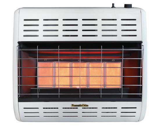 HearthRite HRW30MN 30000 BTU Infrared/Radiant Vent Free Gas Heater - Natural Gas