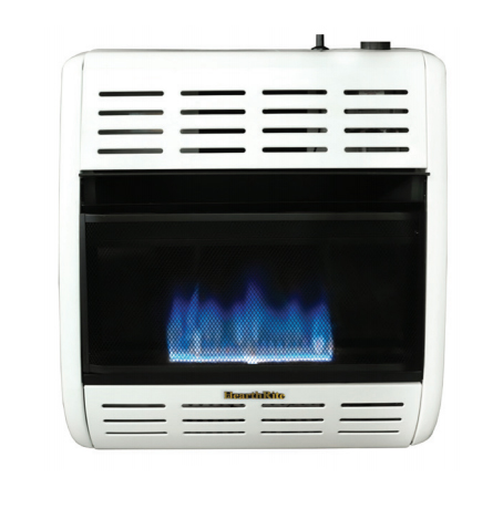 HearthRite HBW20TN 20000 BTU Blue Flame Vent Free Gas Heater with Thermostat - Natural Gas