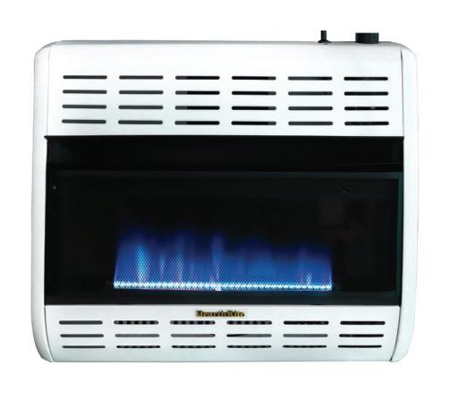 HearthRite HBW30MN 30000 BTU Blue Flame Vent Free Gas Heater - Natural Gas