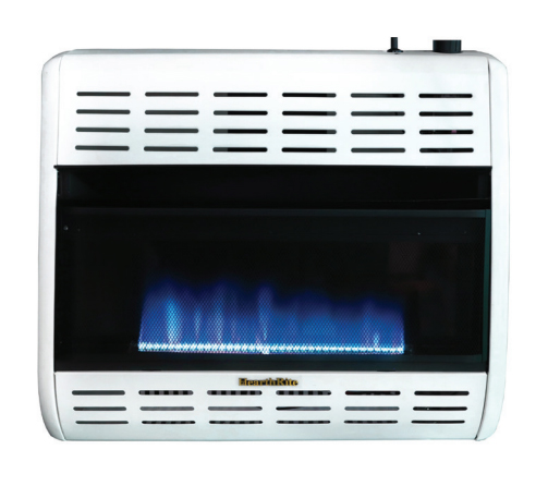 HearthRite HBW30TL 30000 BTU Blue Flame Vent Free Gas Heater with Thermostat - Liquid Propane