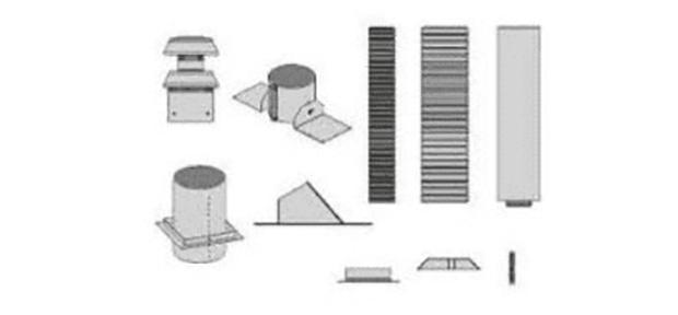 Empire Comfort Systems DVVK-4FV Direct Vent Flexible Vertical Vent Termination Kit