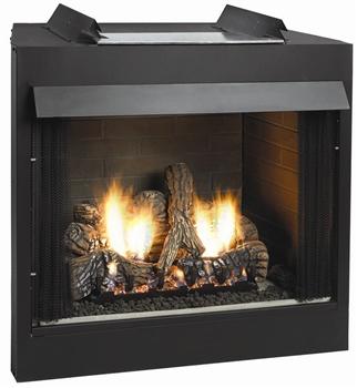 White Mountain Hearth VFP36FB0F Premium 36 Breckenridge, Vent-Free Firebox