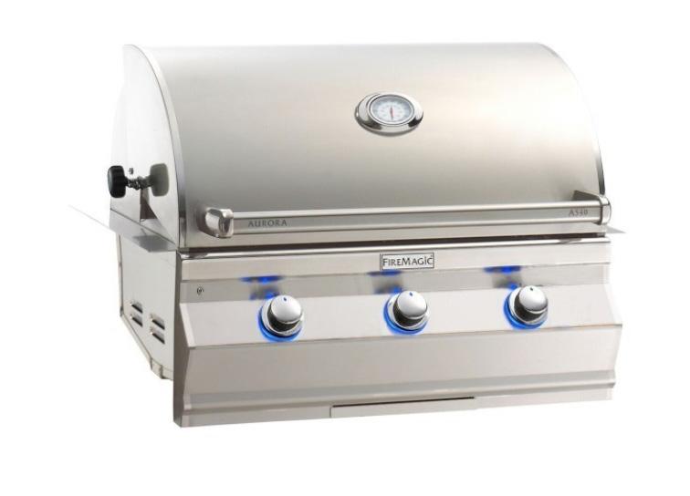 """Fire Magic A540i-7EAN Aurora 30""""  Built-In Gas Grill - Natural Gas"""