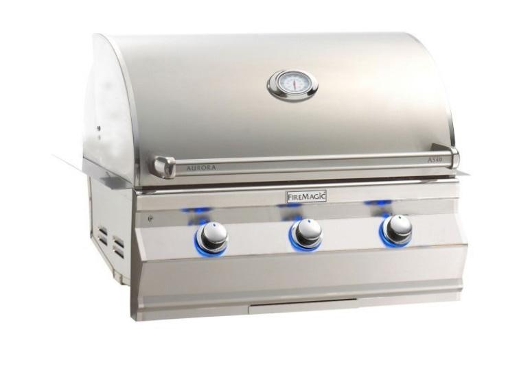 """Fire Magic A540i-7EAP Aurora 30"""" Built-In Gas Grill - Liquid Propane"""